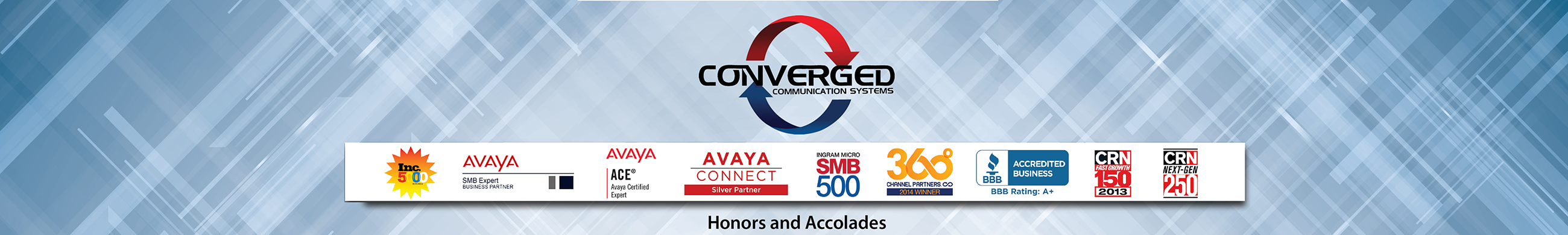 Converged awards and accolades
